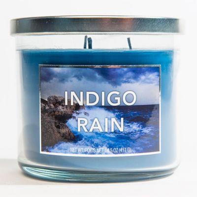 3-Wick Indigo Rain Jar Candle