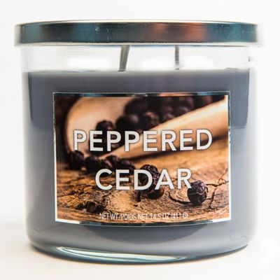 3-Wick Peppered Cedar Jar Candle