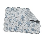Brighton Blue Quilted Placemat