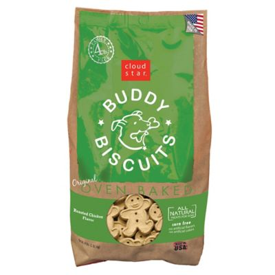 Cloud Star Original Buddy Biscuits Oven Baked Roasted Chicken Flavor Dog Treats