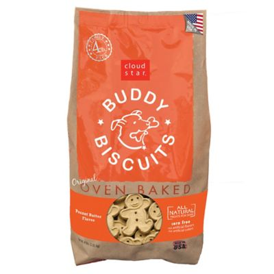 Cloud Star Original Buddy Biscuits Oven Baked Peanut Butter Flavor Dog Treats