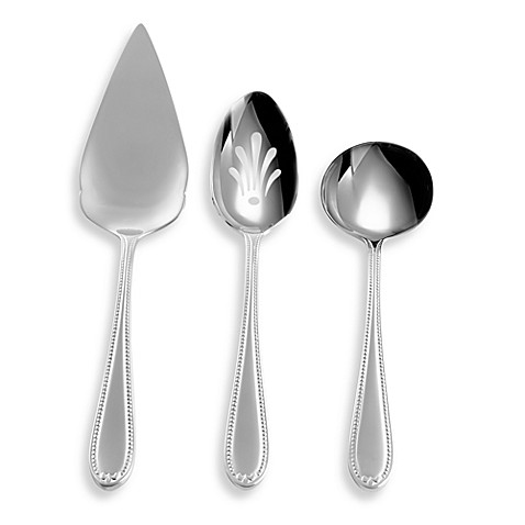 Wedgwood® Knightsbridge Flatware 3-Piece Serving Set