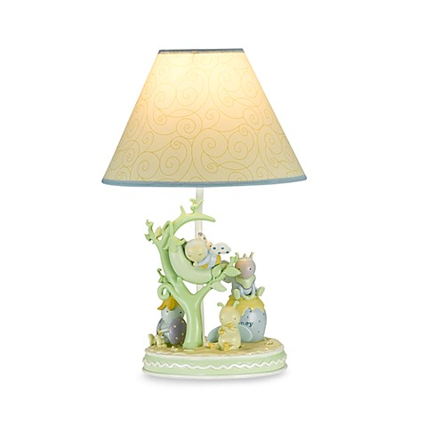 Kids Line™ Snug as a Bug Lamp Base and Shade