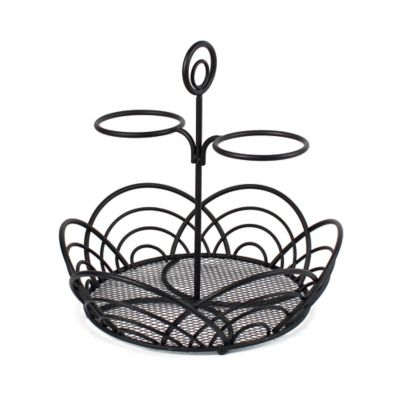 Black Countertop Basket
