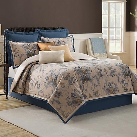 Bridge street cordelia comforter set bed bath beyond for Full bath set