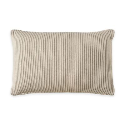 Bridge Street Cordelia Knit Oblong Throw Pillow