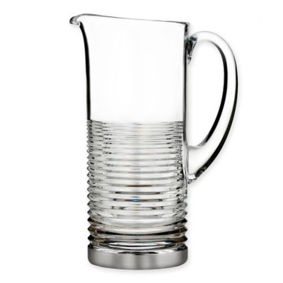 Waterford® Mixology Mad Men Edition Circon Pitcher in Platinum