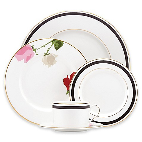 Kate Spade New York Rose Park Dinnerware Collection Bed