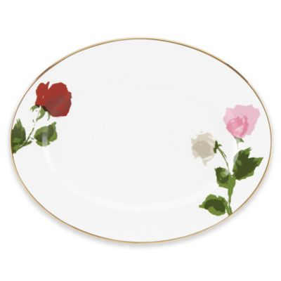 kate spade new york Rose Park Oval Platter