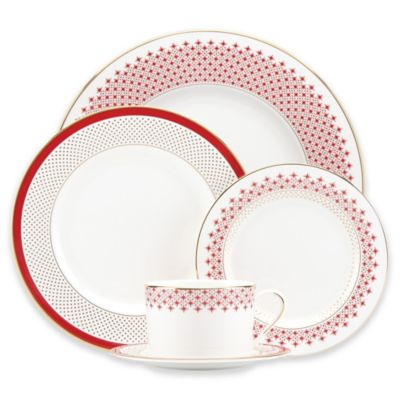 kate spade new york Jemma Street 5-Piece Place Setting