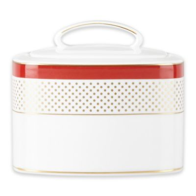 kate spade new york Jemma Street Covered Sugar Bowl