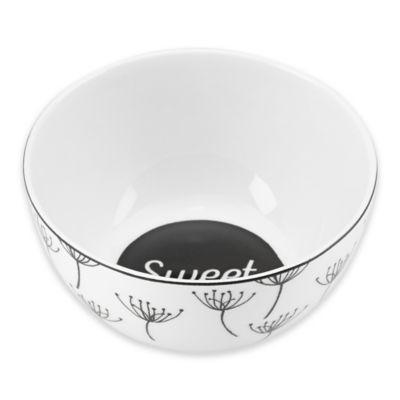 "Lenox® Bistro Place ""Sweet"" Dessert Bowl"