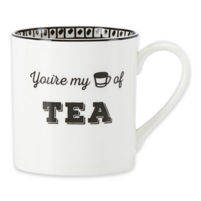 "Lenox® Bistro Place ""You're My Cup of Tea"" Mug"