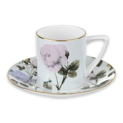 Ted Baker Portmeirion® Rosie Lee Espresso Cup and Saucer in Mint
