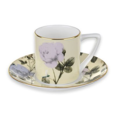 Ted Baker Portmeirion® Rosie Lee Espresso Cup and Saucer in Lemon