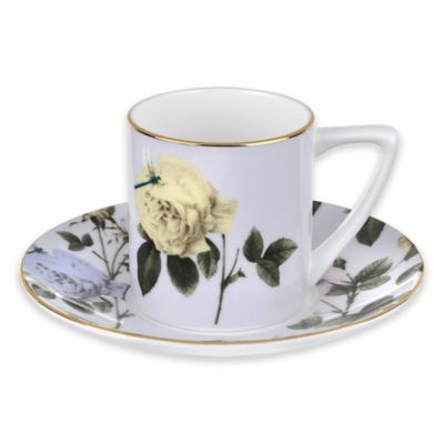Ted Baker Portmeirion® Rosie Lee Espresso Cup and Saucer in Lilac