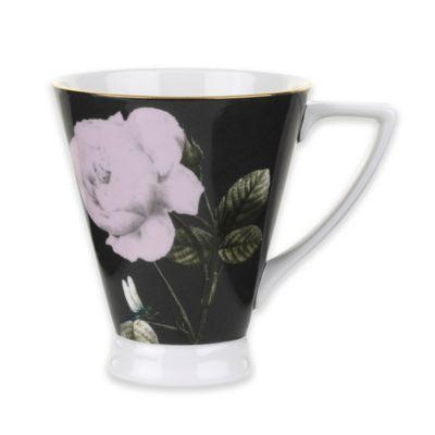 Ted Baker Portmeirion® Rosie Lee Footed Mug in Black