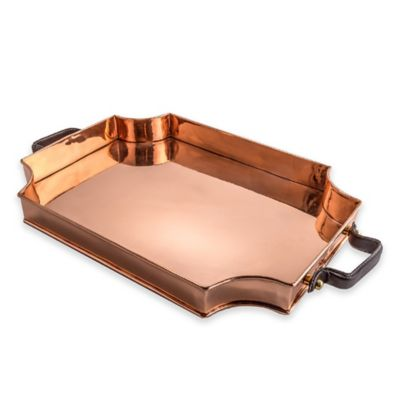 Old Dutch International Royale Copper Rectangular Tray