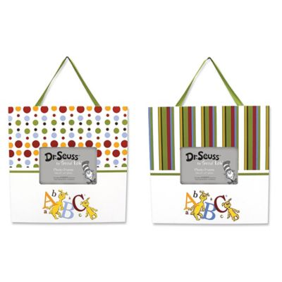 Trend Lab® Dr. Seuss™ ABC Frames (Set of 2)