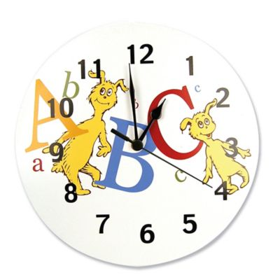 Trend Lab® Dr. Seuss™ ABC Wall Clock