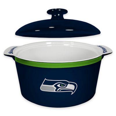 NFL Seattle Seahawks Sculpted Ceramic Gametime Oven Bowl