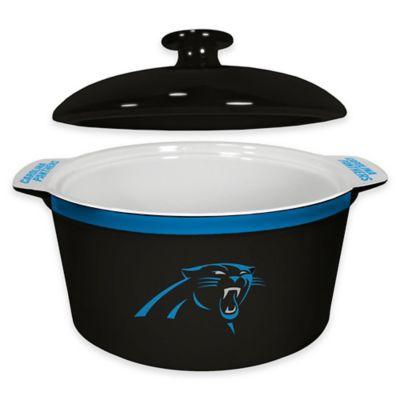 NFL Carolina Panthers Sculpted Ceramic Gametime Oven Bowl