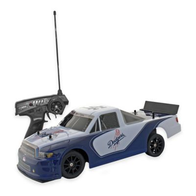 MLB Los Angeles Dodgers Remote Control Race Truck