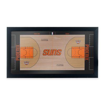 NBA Phoenix Suns Home Court Framed Plaque