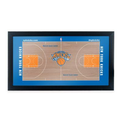 NBA New York Knicks Home Court Framed Plaque