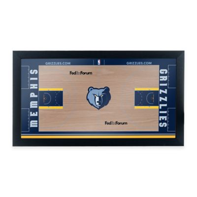 NBA Memphis Grizzlies Home Court Framed Plaque