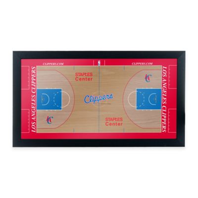 NBA Los Angeles Clippers Home Court Framed Plaque