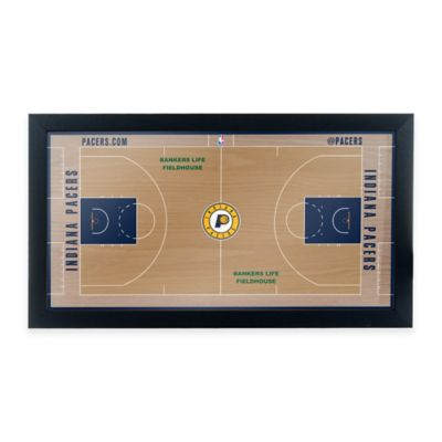 NBA Indiana Pacers Home Court Framed Plaque
