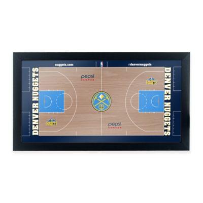 NBA Denver Nuggets Home Court Framed Plaque