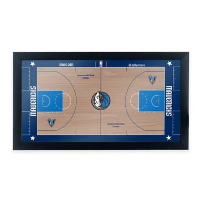 NBA Dallas Mavericks Home Court Framed Plaque
