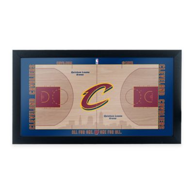 NBA Cleveland Cavaliers Home Court Framed Plaque