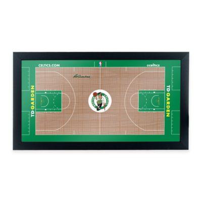NBA Boston Celtics Home Court Framed Plaque