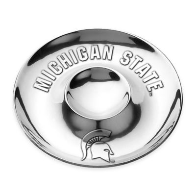 Wilton Armetale Michigan State University Chip N Dip Bowl