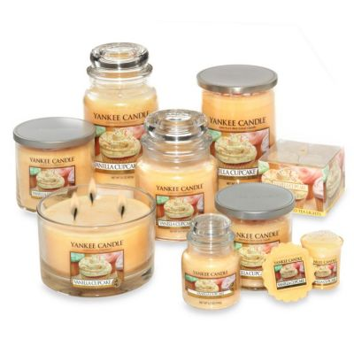 Yankee Candle® Housewarmer® Vanilla Cupcake Tea Light Accent Candles (Set of 12)