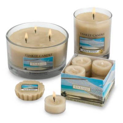 Yankee Candle® Housewarmer® Sun & Sand™ Tea Light Accent Candles (Box of 12)