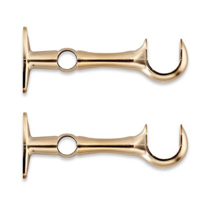 Gold Curtain Brackets