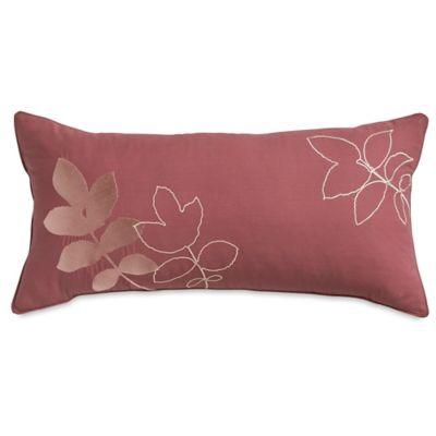 Parker Loft Westfield Oblong Throw Pillow in Burgundy