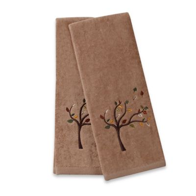 Leaves Hand Towels