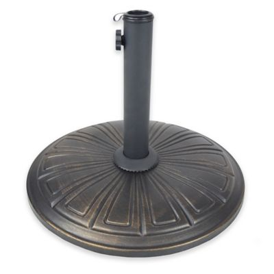 Oakland Living Victorian Cast Concrete Umbrella Stand