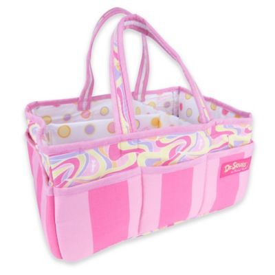 Trend Lab® Dr. Seuss™ Swirl Print Oh, the Places You'll Go! Storage Caddy in Pink