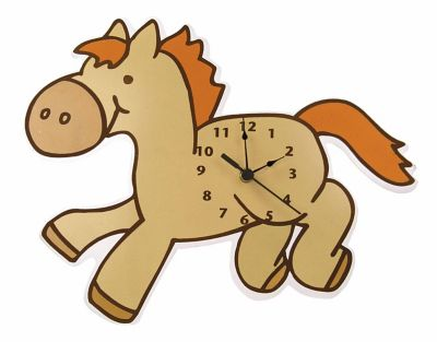 Trend Lab® Cowboy Baby Pony Wall Clock