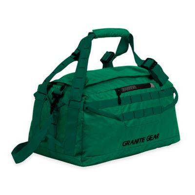 Granite Gear Small Packable Duffle Bag in Green