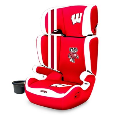 Lil Fan University of Wisconsin High Back Booster Seat