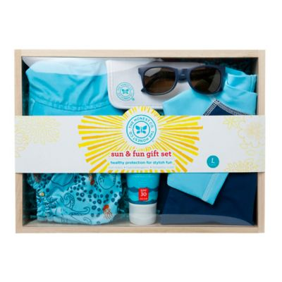 Honest Small Sun & Fun Gift Set in Blue