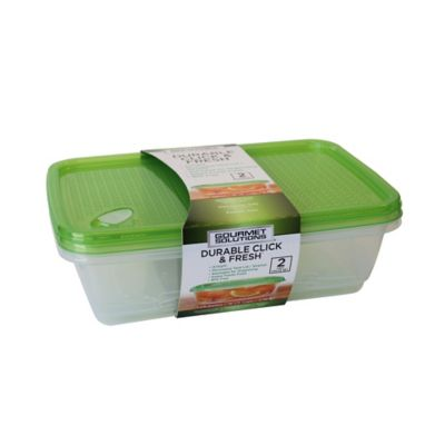 Click & Fresh™ 1-Gallon Food Storage Containers with Vent Lids (Set of 2)