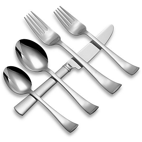 Dansk® Cafe Blanc Flatware 5-Piece Place Setting